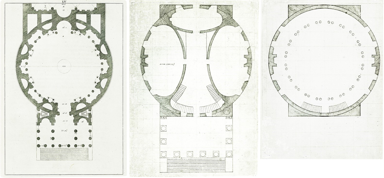 Comparison of the Roman Pantheon and Rotunda